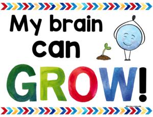Growth Mindset Affirmation Poster