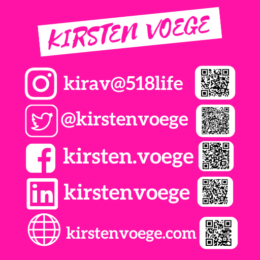 Kirsten Voege is on Social Media Feed Give her a follow