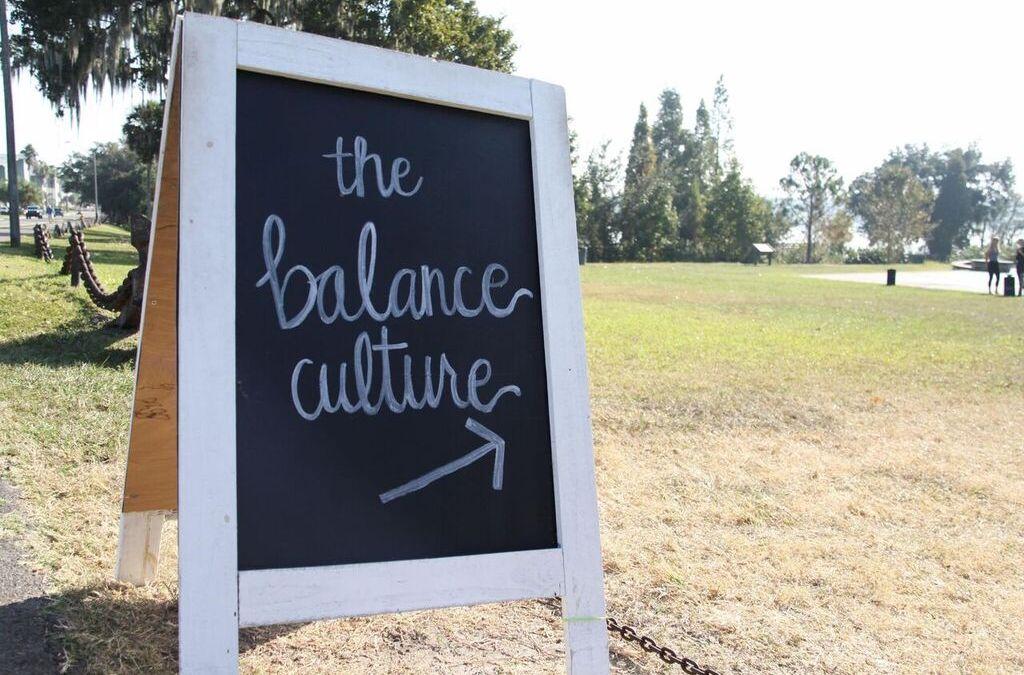 The Balance Culture Grant & Video