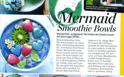 Mermaid Smoothie Bowls, Spirulina Blau (Magic Blue)