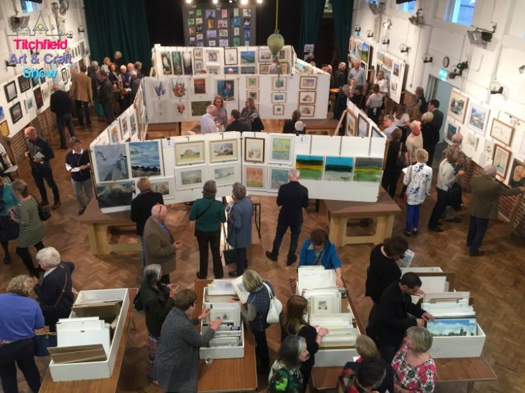 The 2017 Titchfield Art and Craft Show preview evening