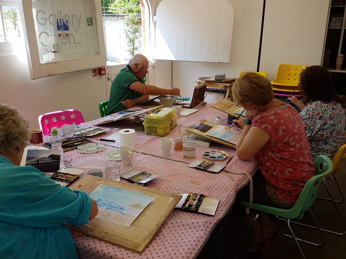 at Inspired and Create, Artsway, Sway, Hampshire.