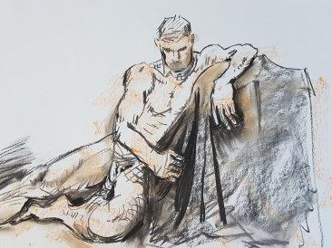 Kirstin White - Male Nude