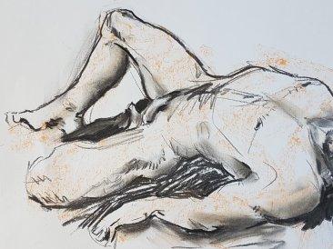 Kirstin White - Reclining Nude