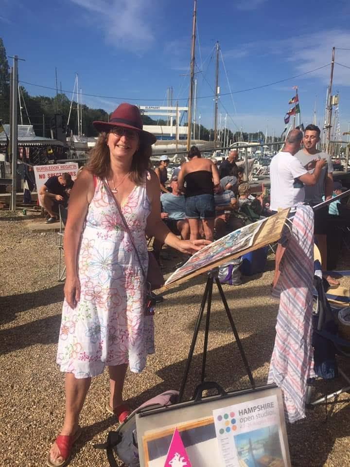 Kirstin White at Bursledon  Regatta