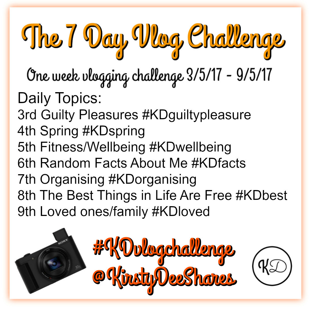 THE 7 DAY vlog new hashtags