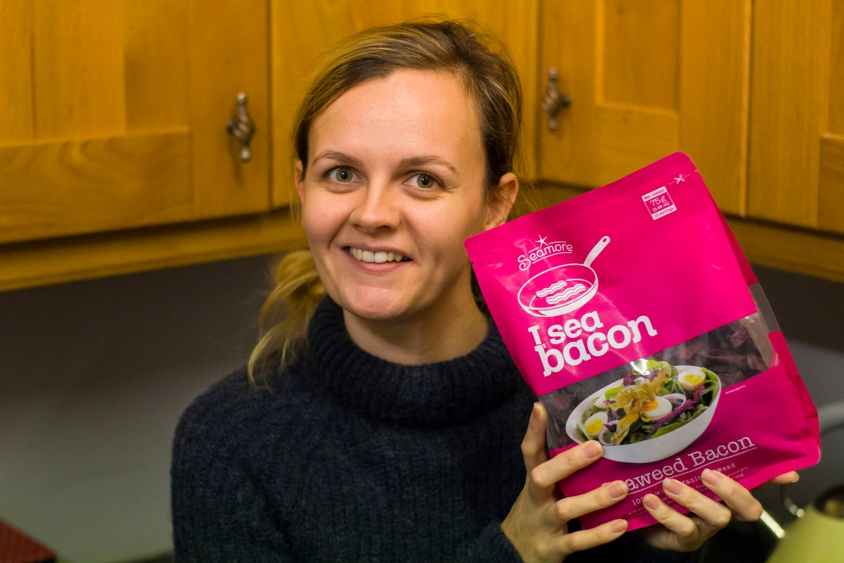 Seaweed That Tastes Like Bacon? I Sea Bacon Review