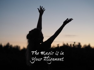 the magic is in your alignment dorset wellness coach