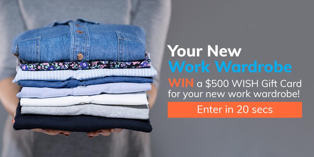 breakthru giveaway feature header - Your New Work Wardrobe