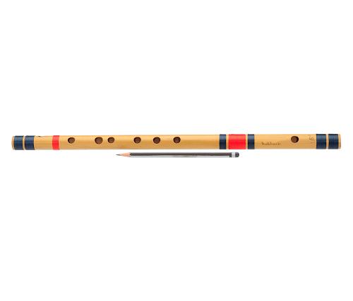 C(до) Средняя Бансури Флейта (49 см)   Левая