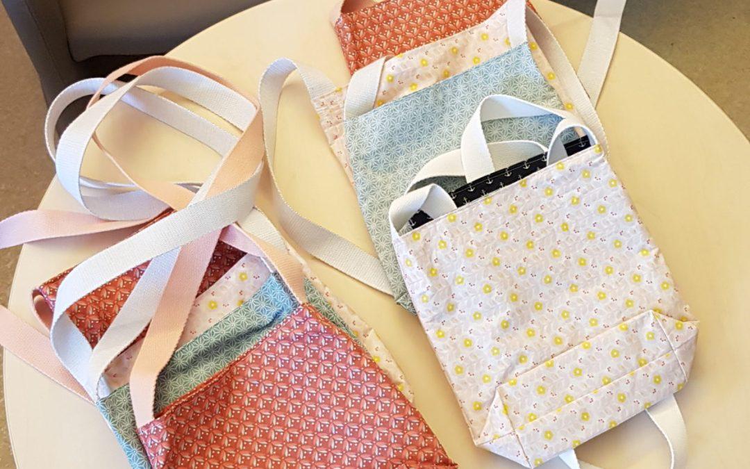 Nouveau projet : Les sacs à redon