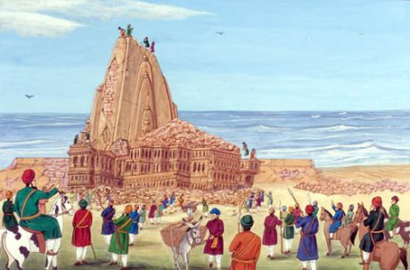 somnath-temple-demolition