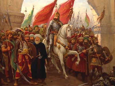 Sultan Muhammad al-Fatih memasuki Konstantinopel