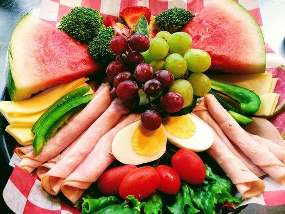 Healthy choices are always on our menu
