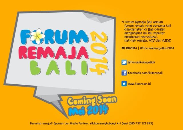 Forum Remaja Bali 2014 coming soon