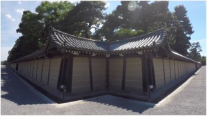 FIGURE 3: The kimon, on the northeast corner of the Imperial Palace, Kyoto (video still: John Wells).