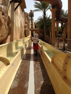 Water slide Dubai