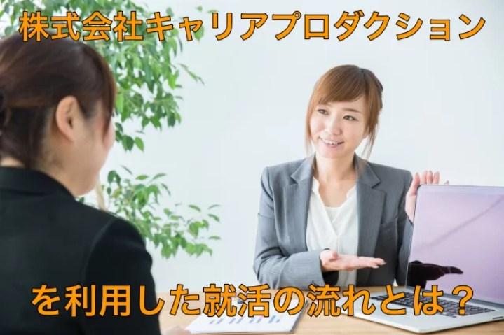 株式会社キャリアプロダクションの就活の流れ