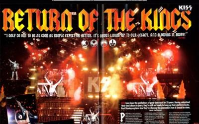 Paul med i Metal Hammer