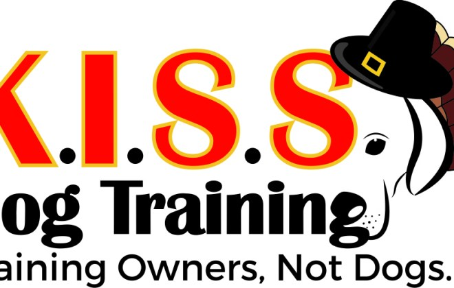Thanksgiving Kiss Dog Training