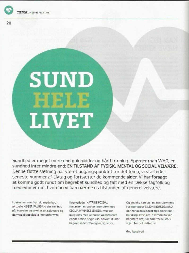 Artikel i PTU om selvværd, offertænkning og bevidst livsledelse