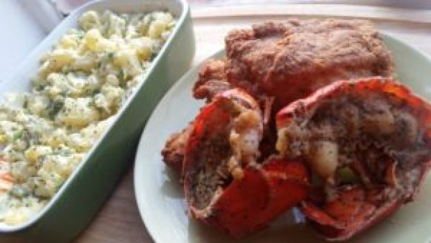 LOBSTER AND CHICKEN