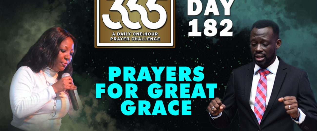Great Grace – MFC 365 Challenge – Day 182