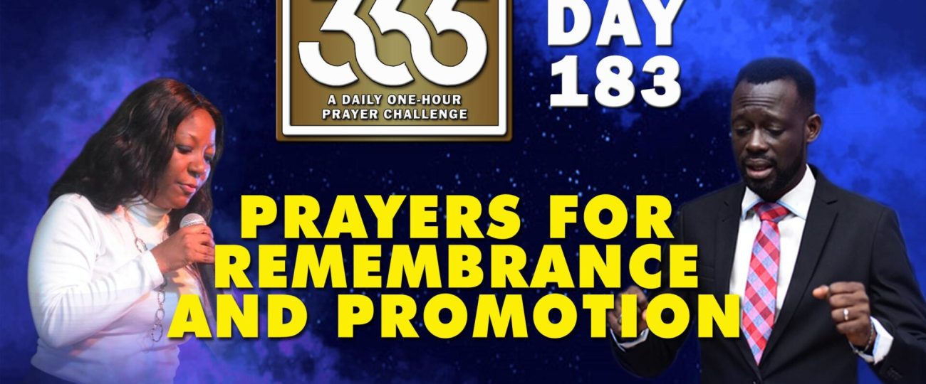 Remembrance and Promotion – MFC 365 – Day 183