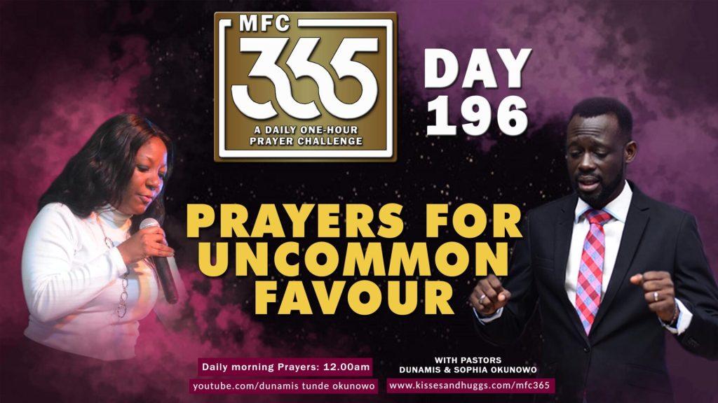 Uncommon Favour – MFC 365 – Day 196