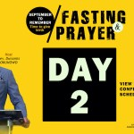 September To Remember Fasting. Read following scriptures before prayers. Its our September To Remember