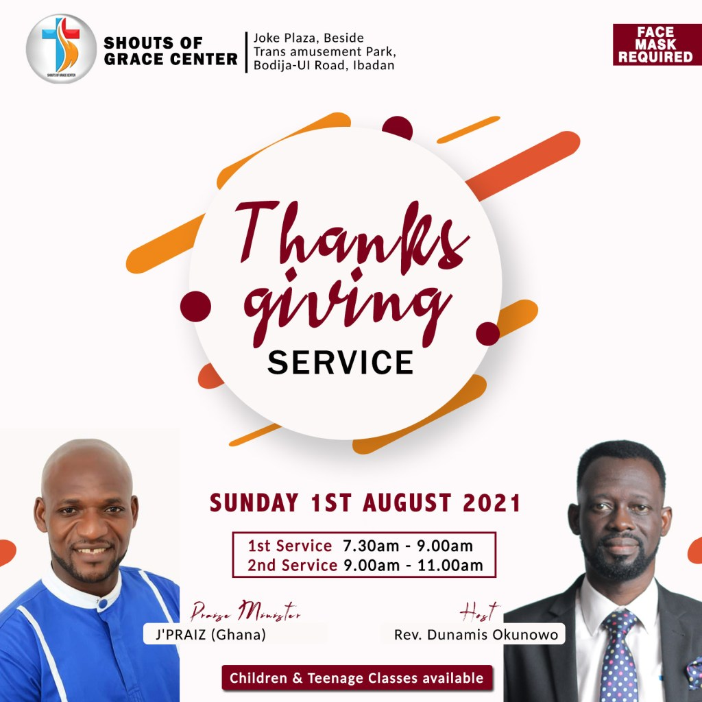 The Fear and Mercy Of God By Pastor Dunamis (1st August 2021)