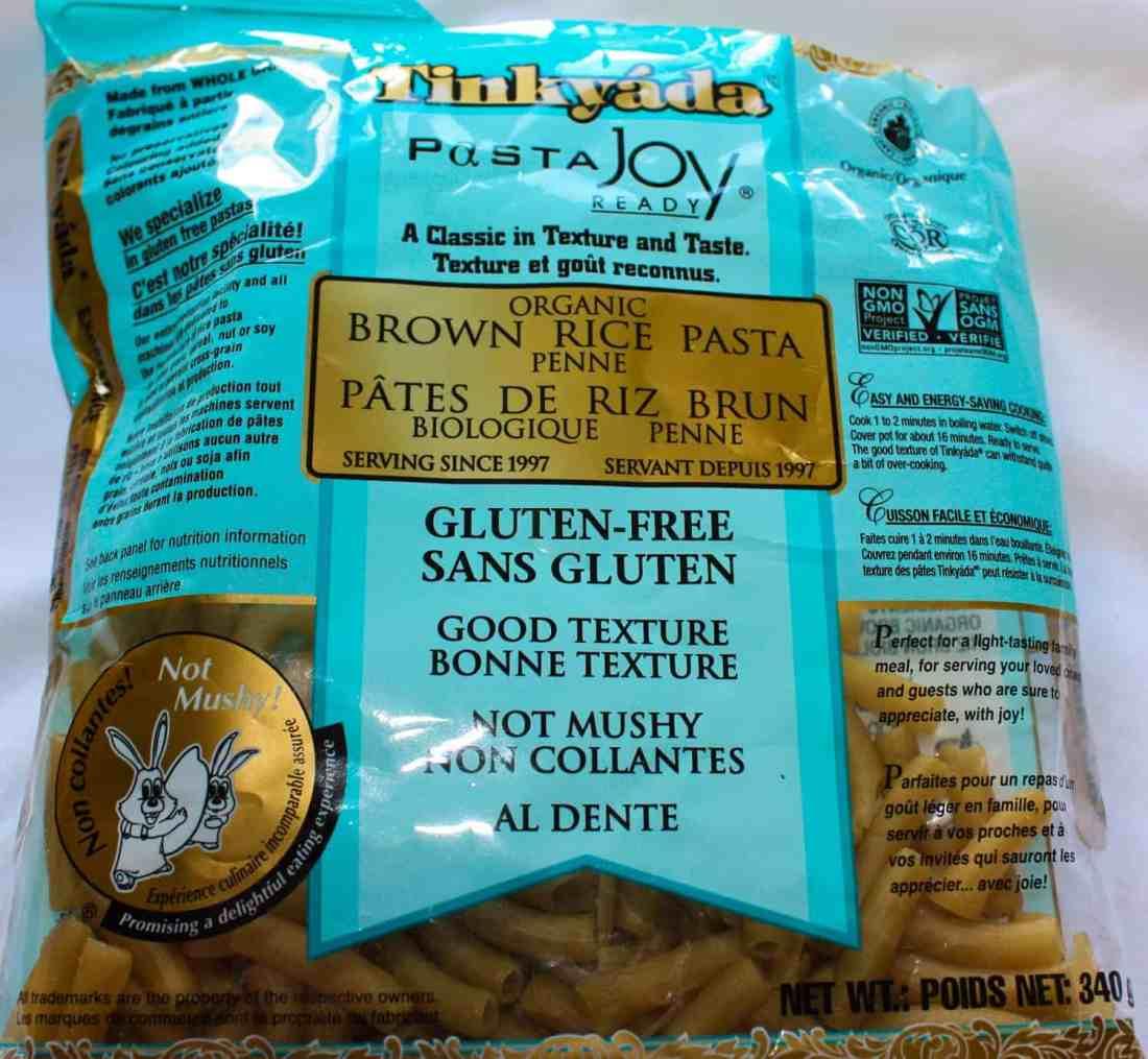 The gluten free pasta.