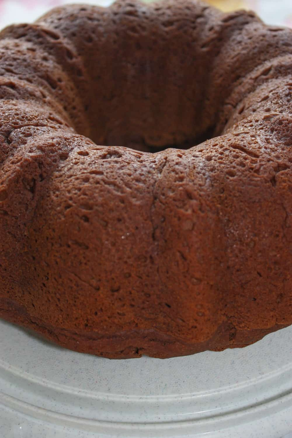 I am having a hard time moving on from all things pumpkin.  Chocolate Pumpkin Bundt Cake is a great alternative for people that are not pie fans.  This gluten free version is smothered in caramel sauce.
