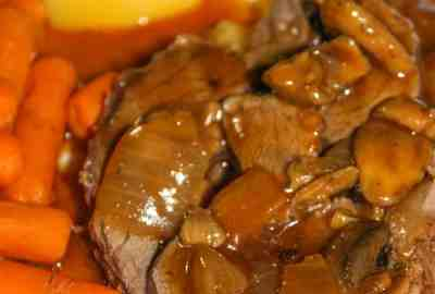 Thanks to the Instant Pot this Venison Rump Roast with all the fixings does not need to be reserved for Sunday dinner. Any day of the week you can enjoy this tender roast.