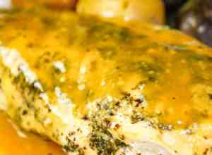 Instant Pot Honey Mustard Chicken is a winner with juicy chicken breasts smothered in a sweet honey mustard sauce.