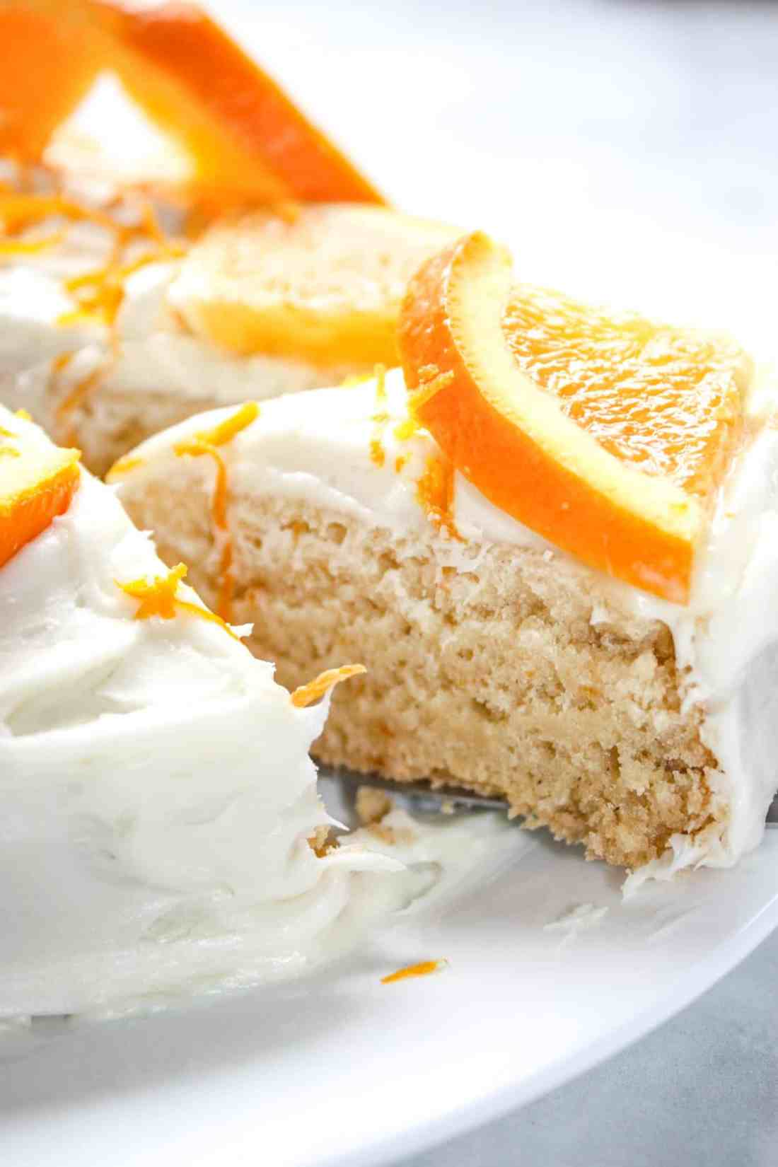 Spring and summer bring on cravings for all things citrus!  This Instant Pot Orange Cake is an easy pressure cooker recipe that complement any warm weather meal. This gluten free cake is moist and delicious!