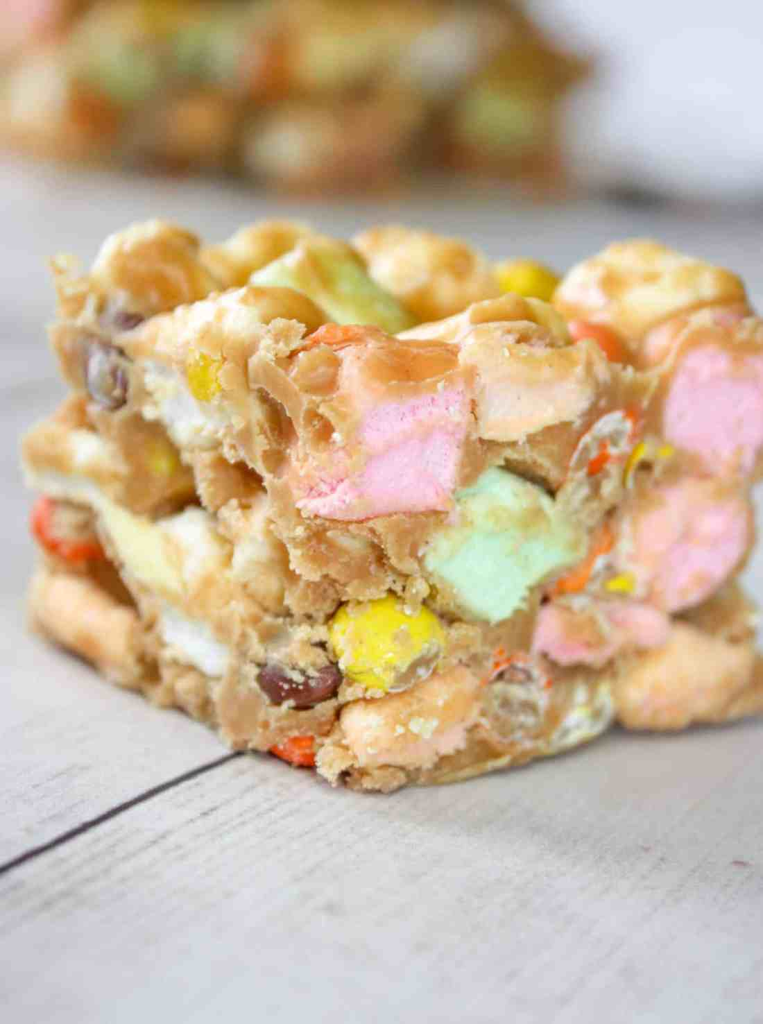 Peanut Butter Marshmallow Squares are a tasty, no bake dessert recipe that is a popular choice for all ages and occasions.