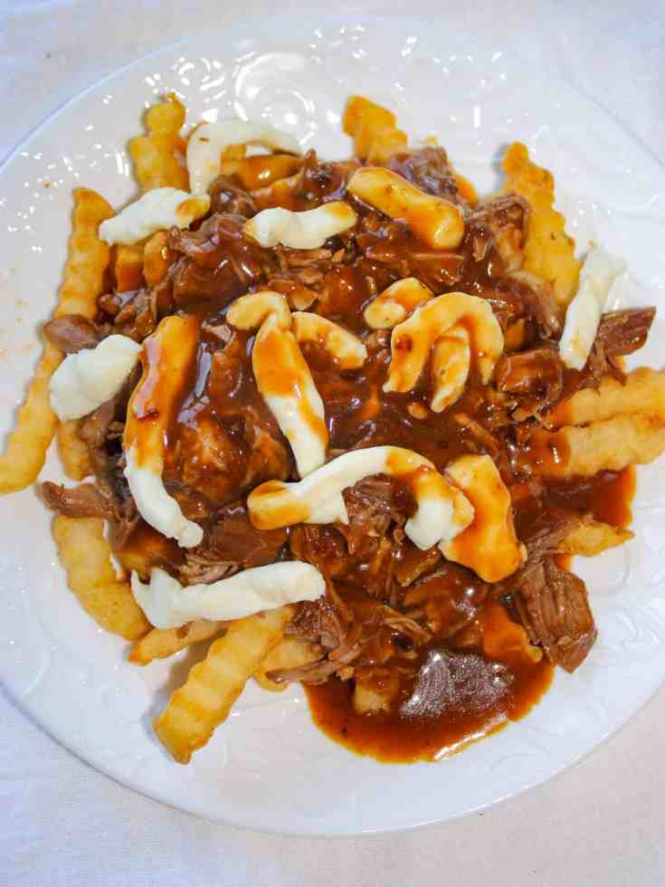 Pulled Pork Poutine is a great comfort food option when you don't feel like making a traditional meal.
