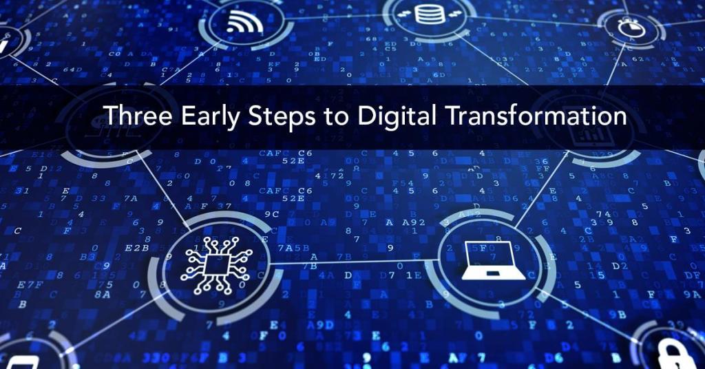 3 steps digital transformation