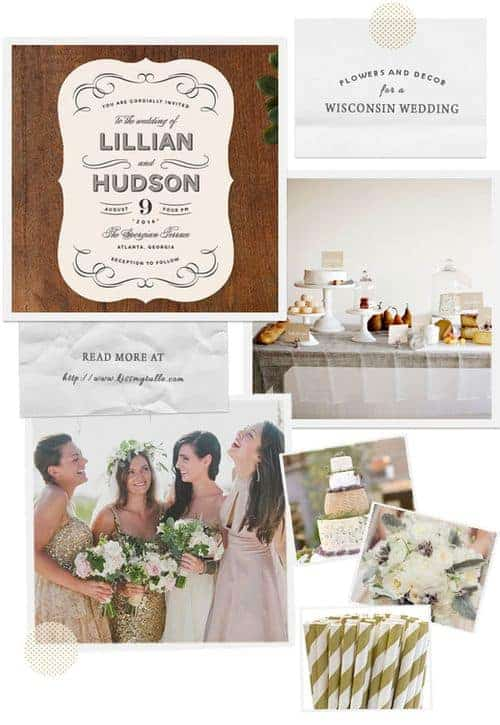 Flowers and Decor for a Wisconsin Wedding    Kiss My Tulle