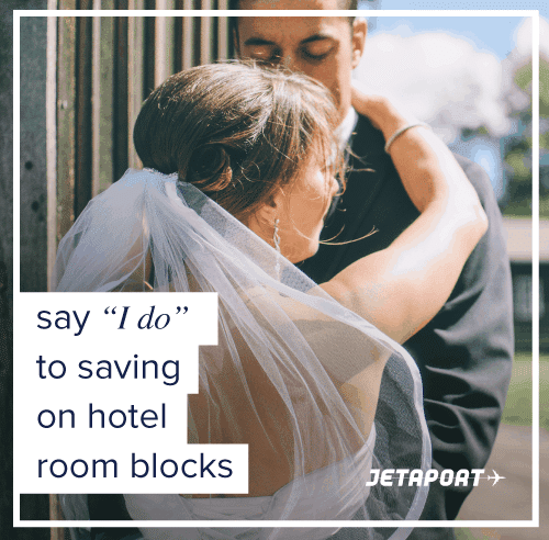 Stress-Free Wedding Hotel Block Booking with Jetaport #ad