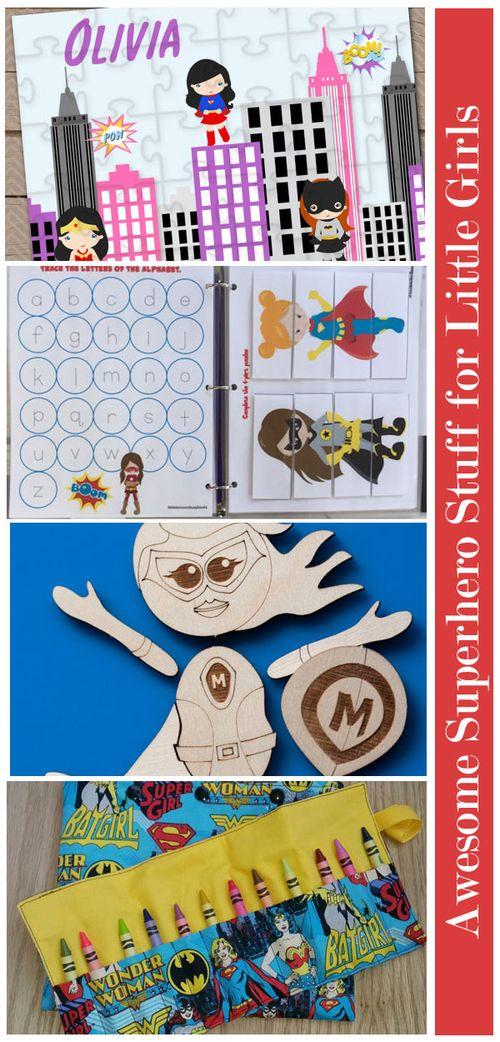 Awesome Superhero Stuff for Little Girls: Toys #GirlsLoveSuperheroesToo