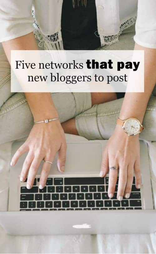 My Top Five Favorite Networks That Pay New Bloggers To Post :: I know which influencer networks I love as a small niche blogger. I'm sharing my top five favorite networks that pay new bloggers to post. Here's the ones I have used the most (and they are all free to apply)!