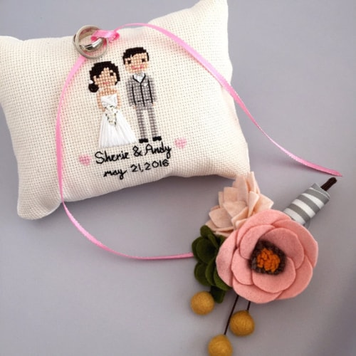 Pillow For Wedding Rings 55 Amazing Wedding Ring Pillow Options