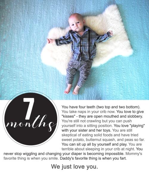 Finn 7 Months