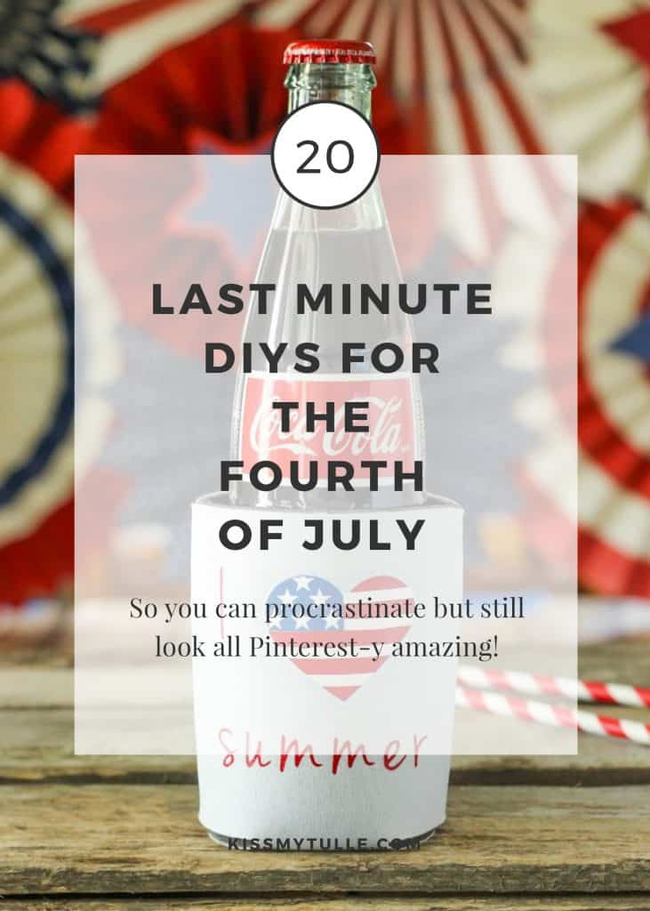 20 Last Minute DIYs for the Fourth of July