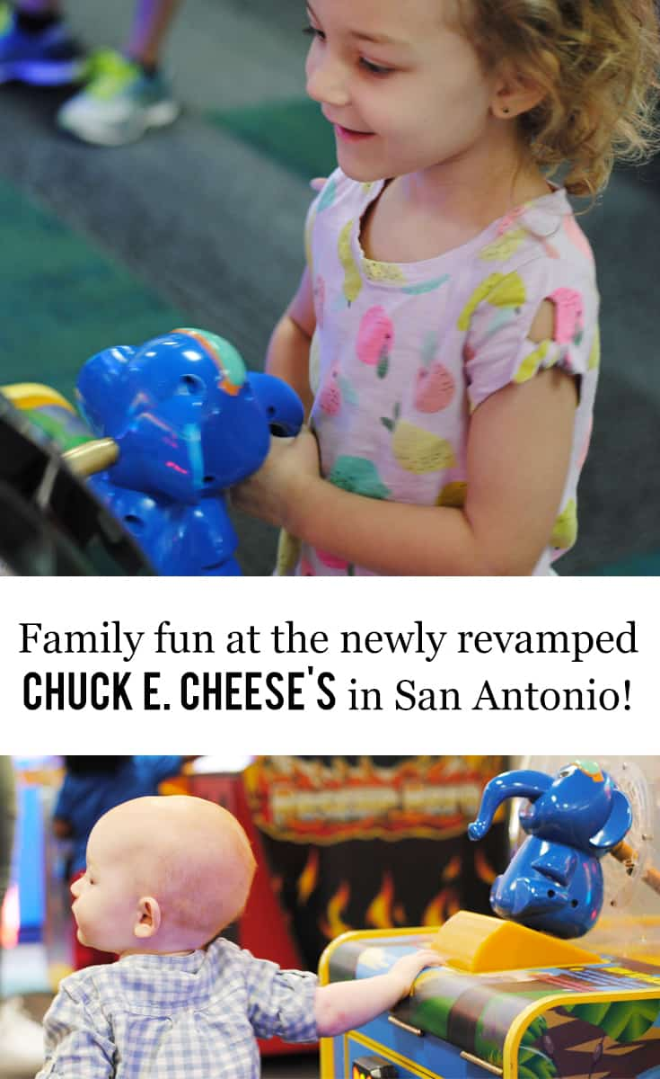 Family Fun at the Newly Revamped Chuck E Cheeses in San Antonio #ad