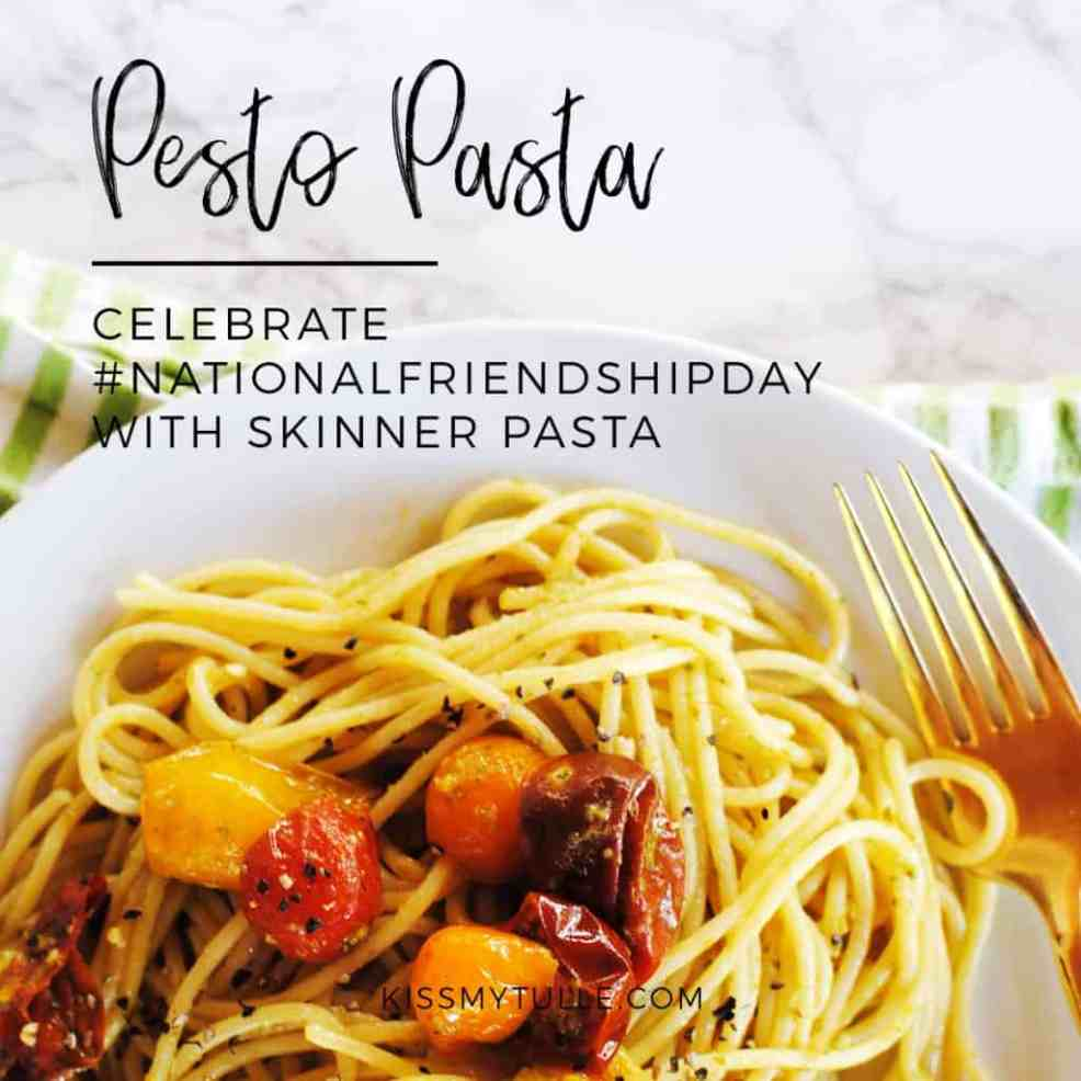 AD Pesto Pasta featuring Skinner Pasta #HowdySkinnerSweepstakes