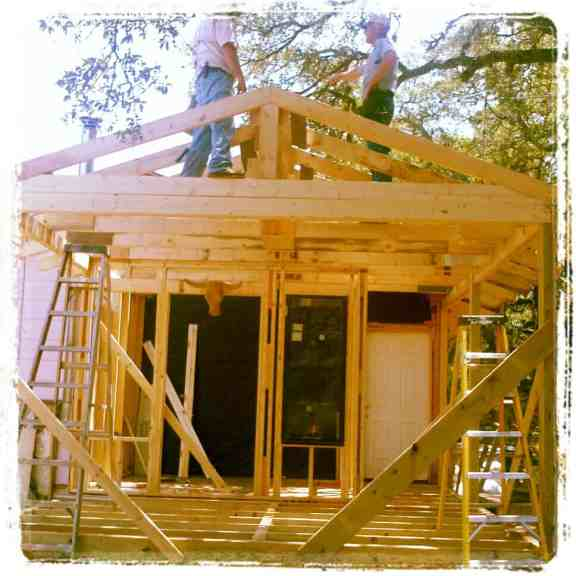 Building the Front Porch and Entryway Addition #DIY #homeimprovement #remodeling