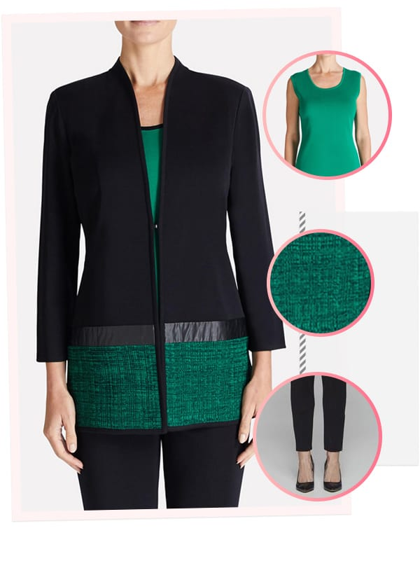 Fabulous Outfits Perfect for the Holidays featuring Misook #AD #fashion #holidays #ootd